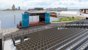 Titelbild Seebühne Bremen an der Waterfront - Open Air Highlight 2021 in Bremen